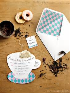 1000 ideas about tea invitations on tea