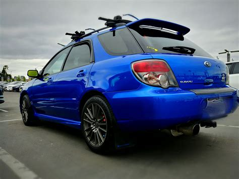 rally subaru wagon 2006 subaru wrx wagon rally blue built motor
