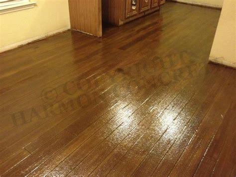 Hardwood Floor On Concrete Concrete Wood Grain Pattern Harmon Concrete