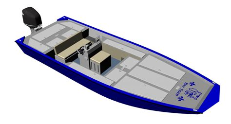 bay boat plans new aluminum bay boat plans with many of the comforts of a