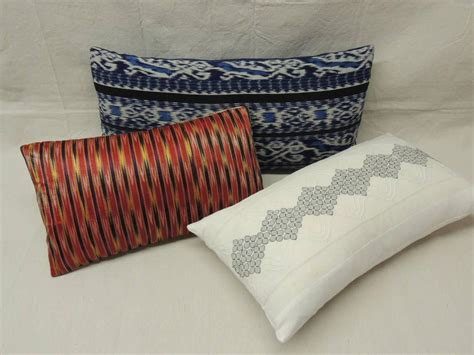 Decorative Lumbar Pillows by Decorative Bolster And Lumbar Pillows At 1stdibs
