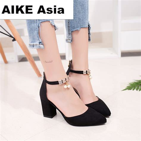 summer women shoes pointed toe pumps dress shoes high