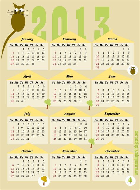 free printable yearly photo calendar free printable yearly calendar 2013 calendar 2013 whole