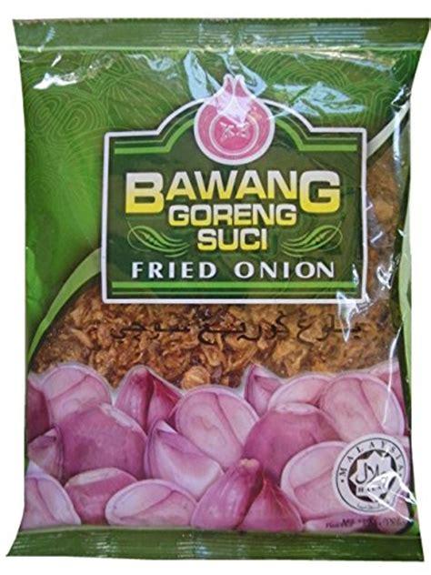 Bawang Goreng Amah Pack 2pc bawang goreng suci crispy fried 180g 6 3 oz pack of 3 food beverages tobacco food