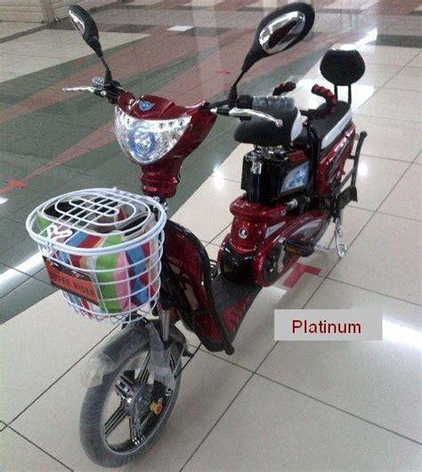 jual sepeda listrik type earth platinum alatfitnesmurah