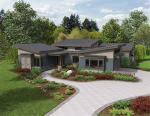 Modern Home Design Ranch the caprica contemporary ranch house plan