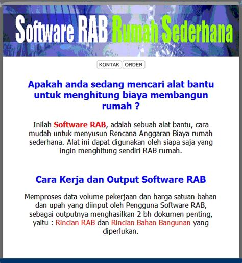 membuat rab rumah cara mudah membuat rab rumah dengan software rab blog