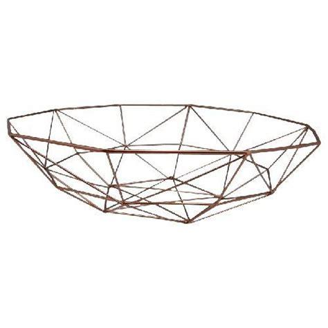 modern fruit bowl buybrinkhomes com copper metal geo bowl 40cm modern fruit bowl