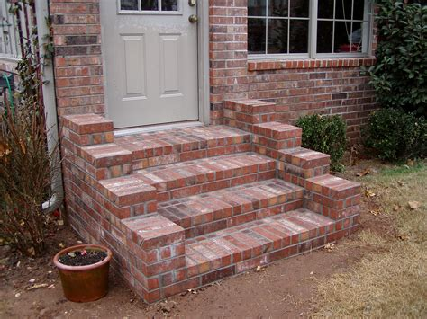 paver designs 5736 brick steps hardscapes brick steps bricks