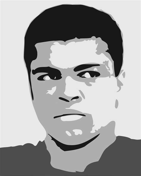 mohammed ali stencil by tbenk491 clipart mohammad ali
