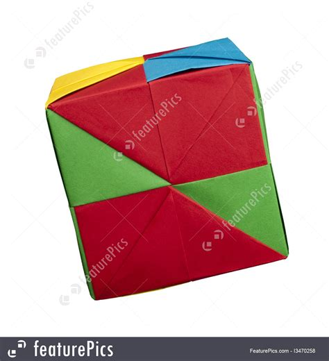Cube Paper Folding - paper cubes folded origami style picture