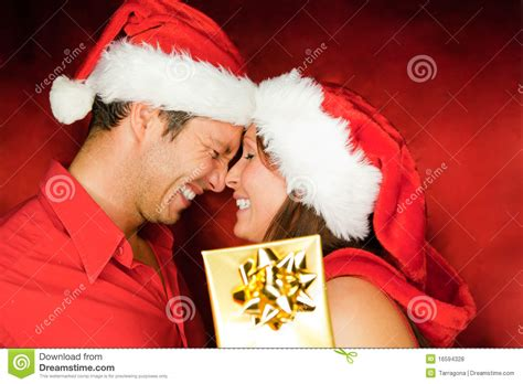 christmas couple royalty free stock photos image 16594328