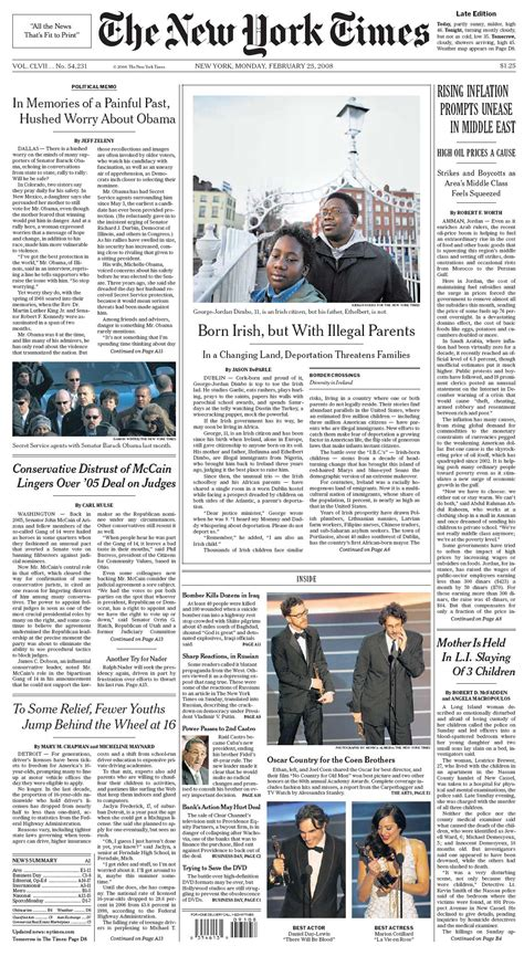new york times front page newspaper new york times front page newspaper