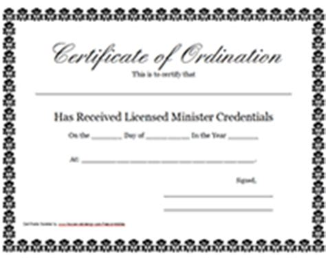 certificate of license template search results for deacon printable certificate