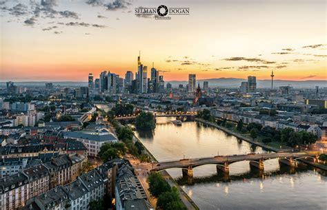 frankfurt am frankfurt am skyline view from plaza germany