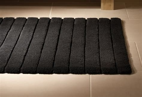 black bathtub mat fancy black bamboo bath mat