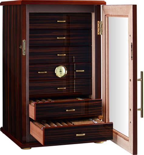 7 Drawer Humidor by Adorini Grande Deluxe Cigar Humidor 150 Cigar Capacity