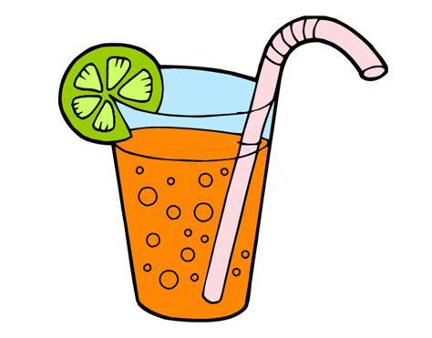 dibujos de bebidas para colorear dibujo de bebida fria pintado por exa xula en dibujos net