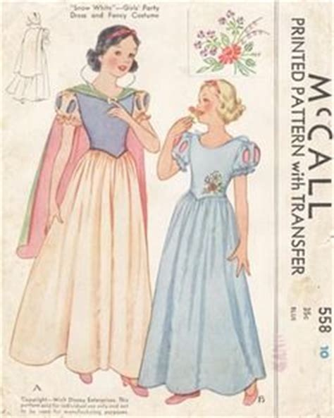 pattern for snow white dress mccall snow white dress pattern patterns of the past