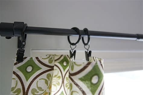 hanging curtains with clip rings house tweaking