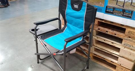 timber ridge zero gravity chair with side table timber ridge director s chair with side table costco