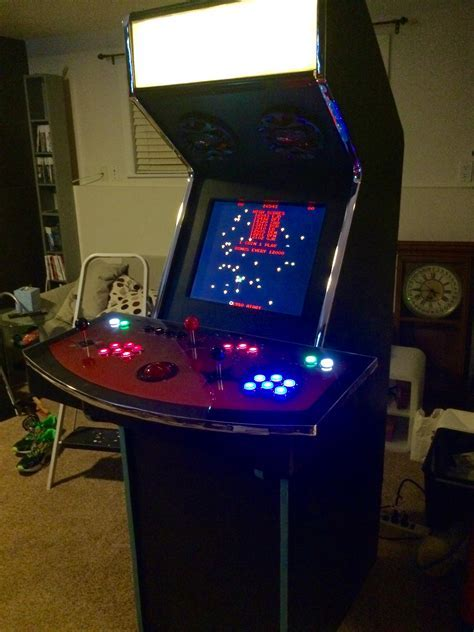 Mame Cabinet Kit Diy Mame Arcade Cabinet Plans Cabinets Matttroy