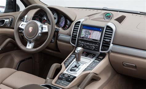 porsche cayenne interior car and driver