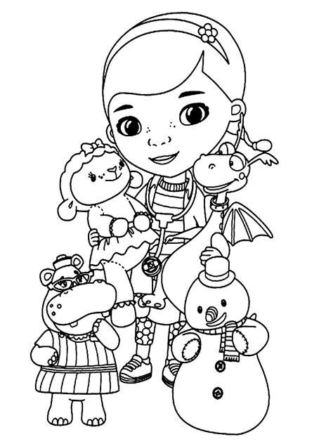 imagenes para colorear la doctora juguetes doctora juguetes para colorear www pixshark com images