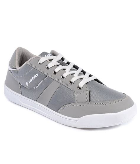 lotto gray casual shoe price in india buy lotto gray