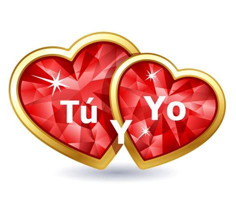 imagenes de corazones con i love you imagen de corazones tu y yo frases de amor pinterest