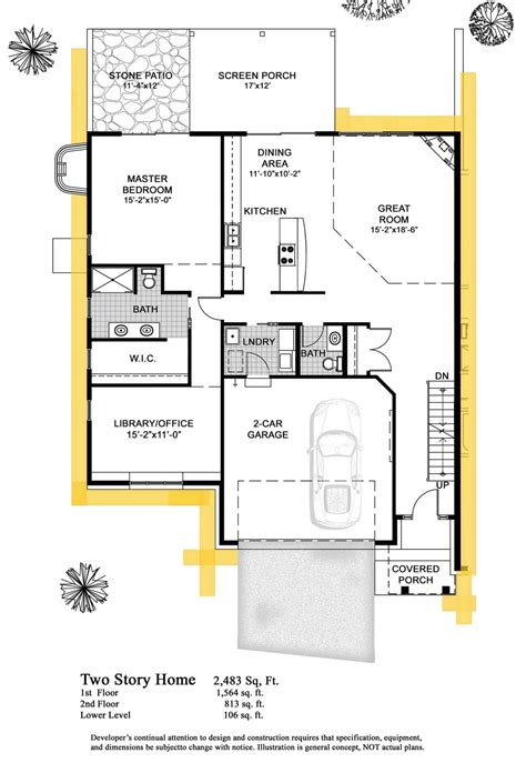 two story condo floor plans 2 story house floor plans