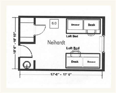 Floor Plan Web App neihardt hall university housing university of