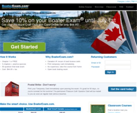 online boat test pleasurecraftoperatorcard org boaterexam 174 boating