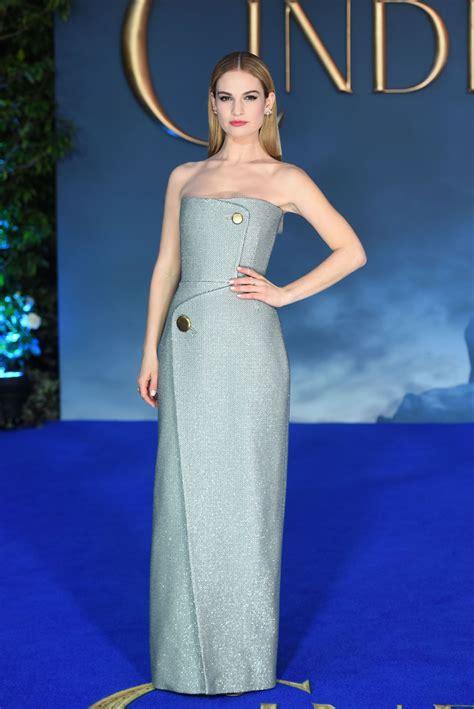 cinderella film premiere london lily james disney s cinderella premiere in london