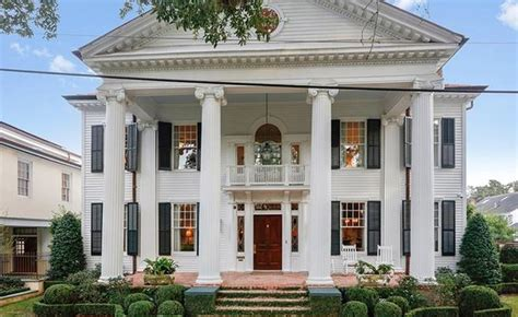 neoclassical homes neoclassical revival style home in orleans louisiana