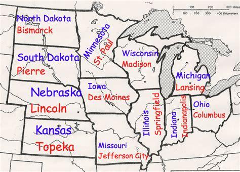 Midwest Region   Mrs. Oechsle's Fourth Grade