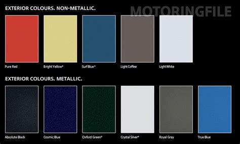 mini countryman colors revealed motoringfile