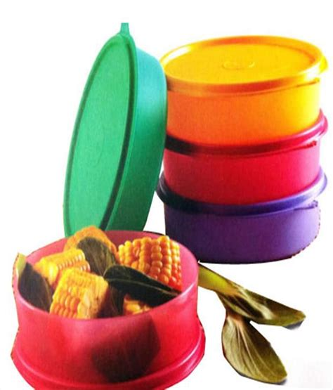 Tupperware Small Handy Bowl tupperware large handy bowls 600ml plastic containers 4pc
