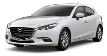 2018 mazda 3 hatchback fuel efficient compact car