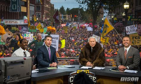 will espn s college gameday be back in fargo for ndsu