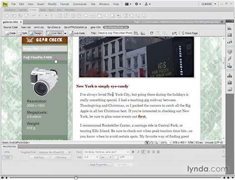 dreamweaver tutorial adobe tv free adobe dreamweaver cs4 tutorials