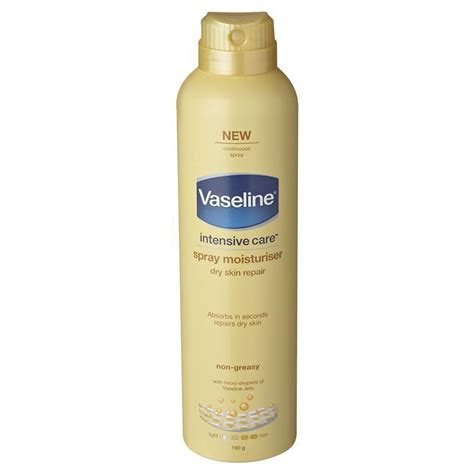 Vaseline Original 60 Ml vaseline intensive care spray go moisturiser skin 190g my chemist
