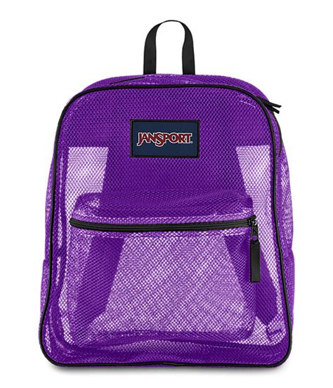 pack packs mesh pack backpack shop clear mesh backpacks at