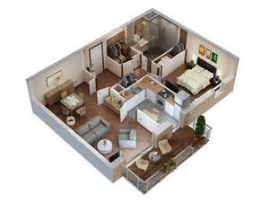 Small 2 Bedroom Cabin Plans plans 3d et 2d archives studio multim 233 dia 3d at home