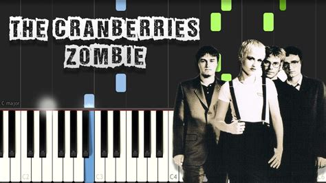 tutorial zombie the cranberries the cranberries zombie piano tutorial synthesia