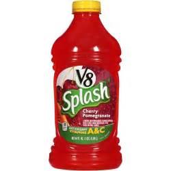V8 Splash Cherry Pomegranate Fruit Juice, 64 fl oz - Walmart.com V8 Juice