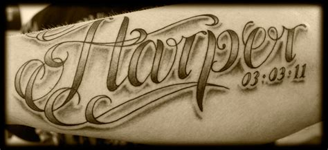 lettering tattoos and designs