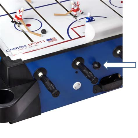 carrom hockey table parts replacement goalie knob carrom thompson sporting goods