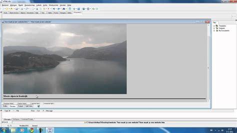 tutorial website maken html leren tutorial 3 website bouwen dutch youtube
