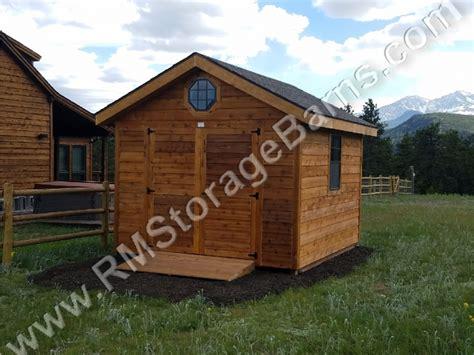 alpine rocky mountain storage barns